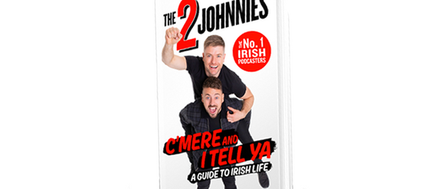 THE NEW BOOK FROM THE 2 JOHNNIES!