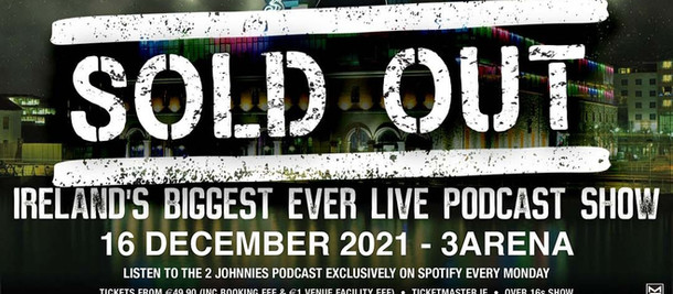 Our Show at 3Arena Dublin Is Now Sold Out!