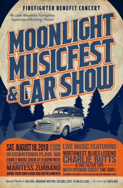 Moonlight Music Fest August 18, 2018