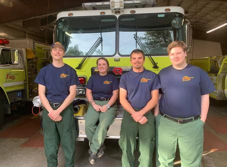 LWFR Welcomes Seasonal Firefighters