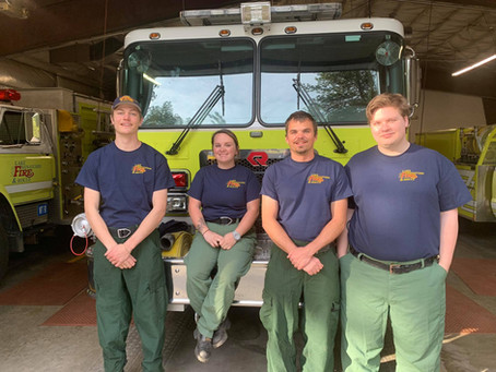 LWFR Welcomes Seasonal Firefighters
