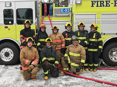 Upper Valley Fire Academy Graduates 2017