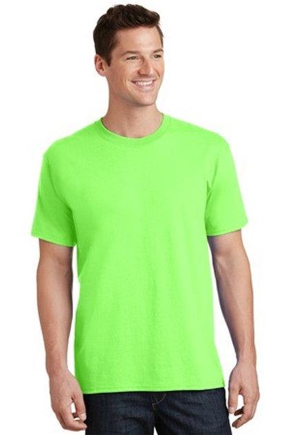 Neon Green Unisex Crew Neck Tee