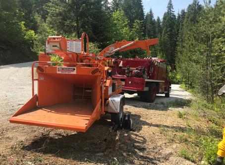 Ready, Set, Go! Program September Member Spotlight: Lake Wenatchee Fire Rescue's Community Chipping