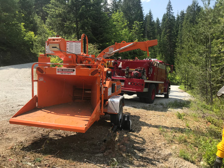 Ready, Set, Go! Program September Member Spotlight: Lake Wenatchee Fire Rescue's Community Chipping