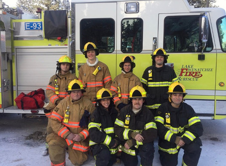 LWFR Welcomes 8 New Firefighters