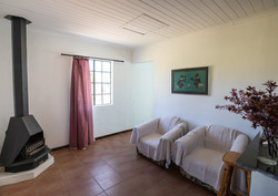 Living Area & Fireplace