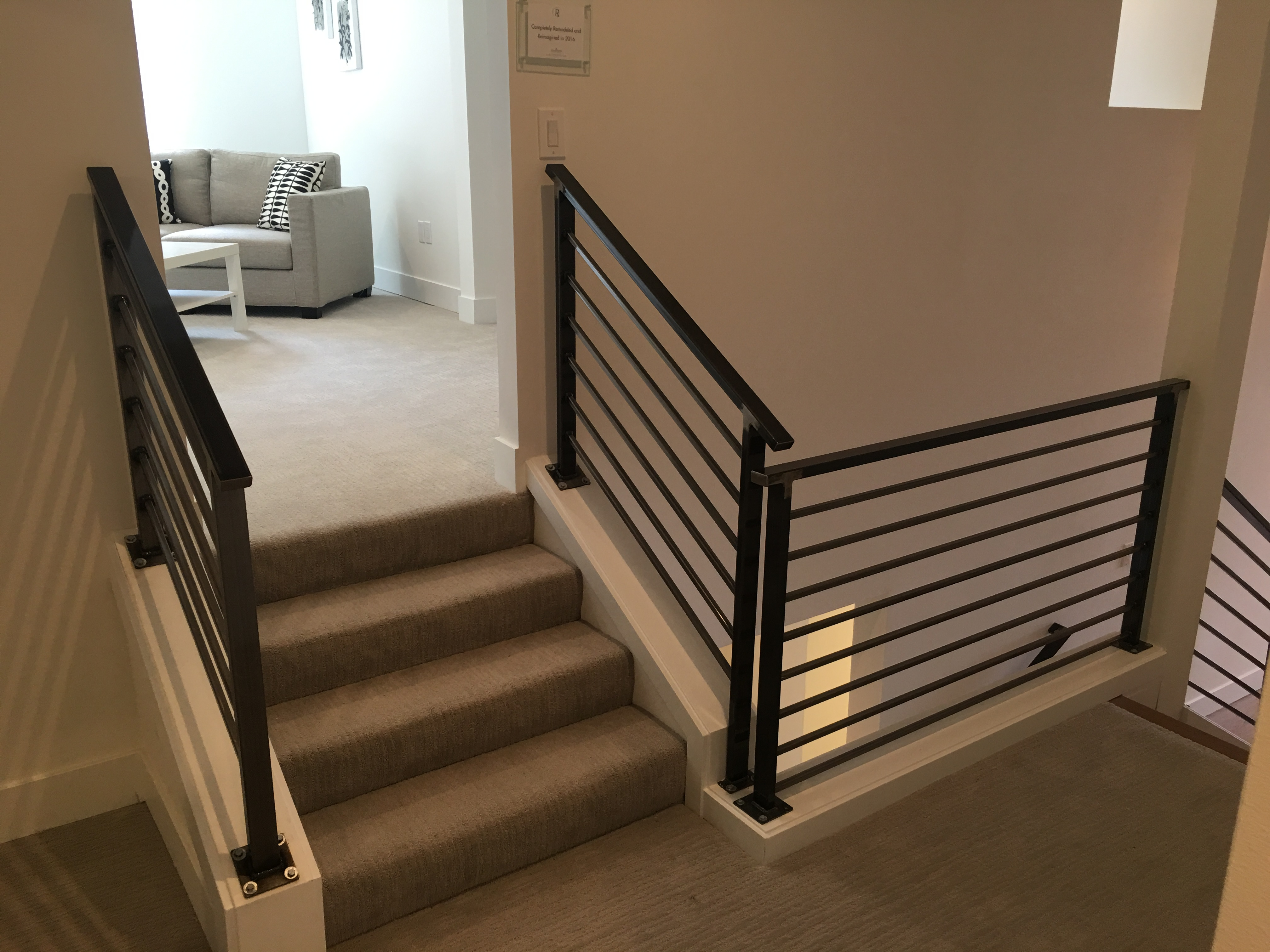 Interior Steel Handrail