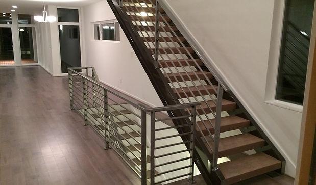 interior steel handrail