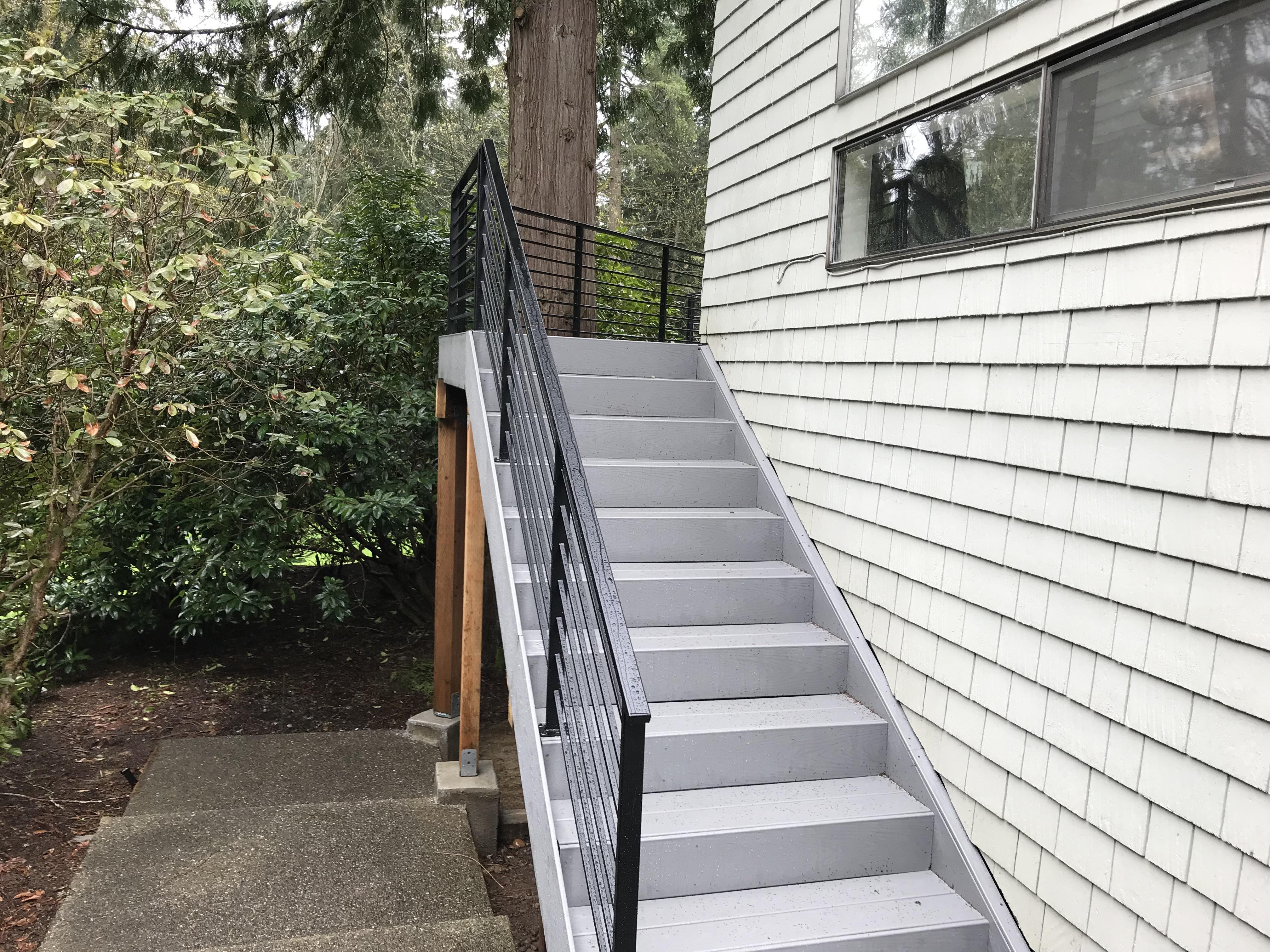Exterior Steel Handrail