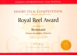 Royal Reel Award