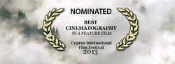 Nominated Best Cinematography