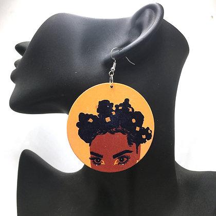 Bantu Boo Earrings (medium earrings)