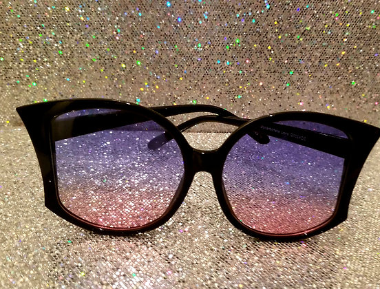 Ombre blue & pink sunglasses