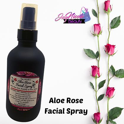 Jay Nicole's Aloe Rose Facial Spray 4oz