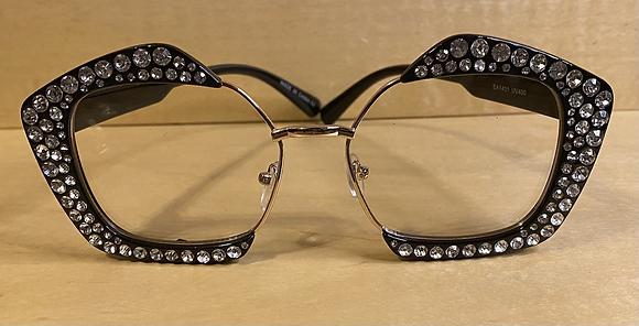 Clear Bling Sunglasses