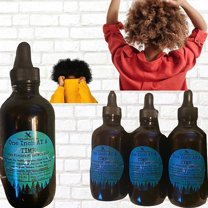 One Inch At A Time #1 Growth Oil (4oz)