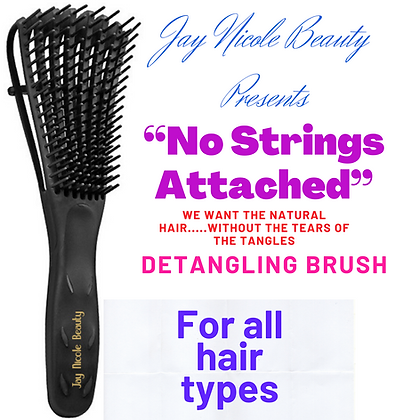 No Strings Attached Detangling Brush
