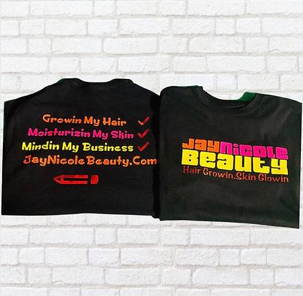 Checklist T-Shirt Black