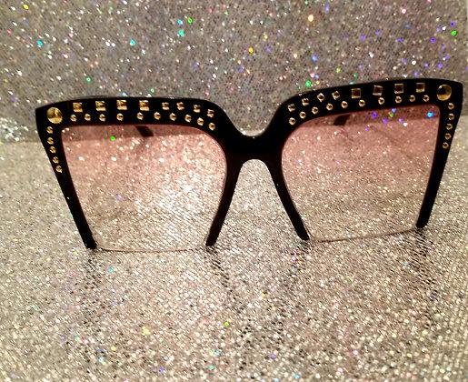 """Square Bling"" Sunglasses"