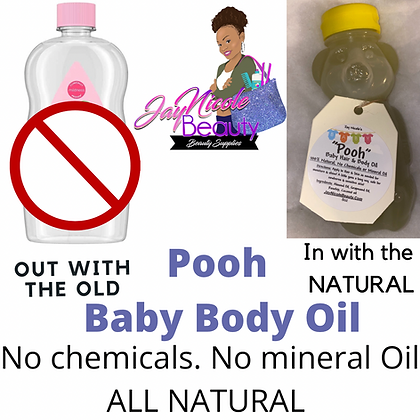 """Pooh"" Baby Hair  & Body Oil"