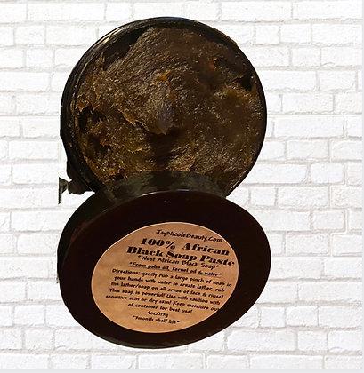 100% African Black Soap Paste (4oz)
