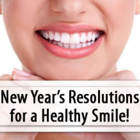 The 5 New Year's Resolutions That Will Make The Biggest Difference In Your Smile!