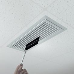 Application of ScentFilm in rectangular vent