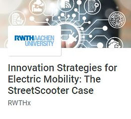 Innovation Strategies for Electric Mobility: The StreetScooter Case