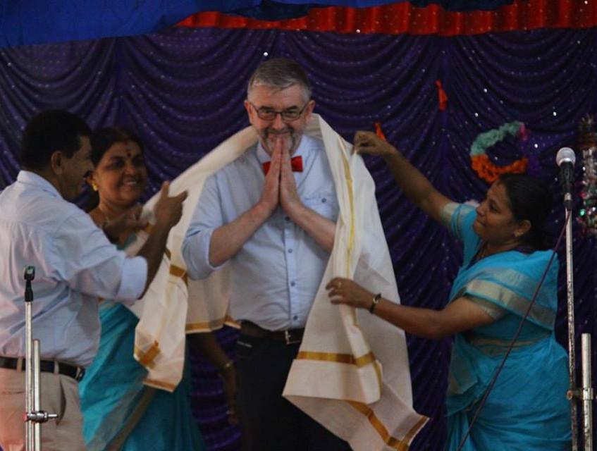 Honouring of 'Big Paul'