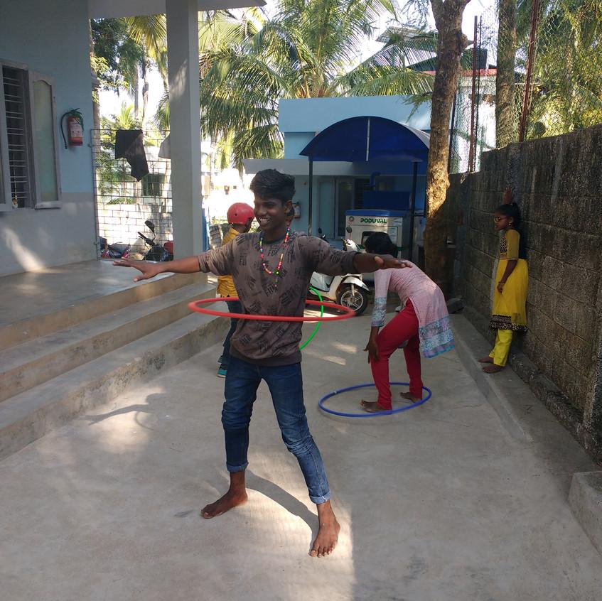 Hula hoop I