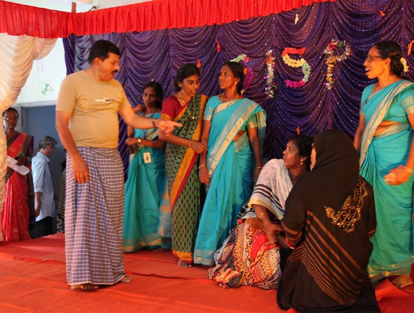 Drama performance by SISP staff