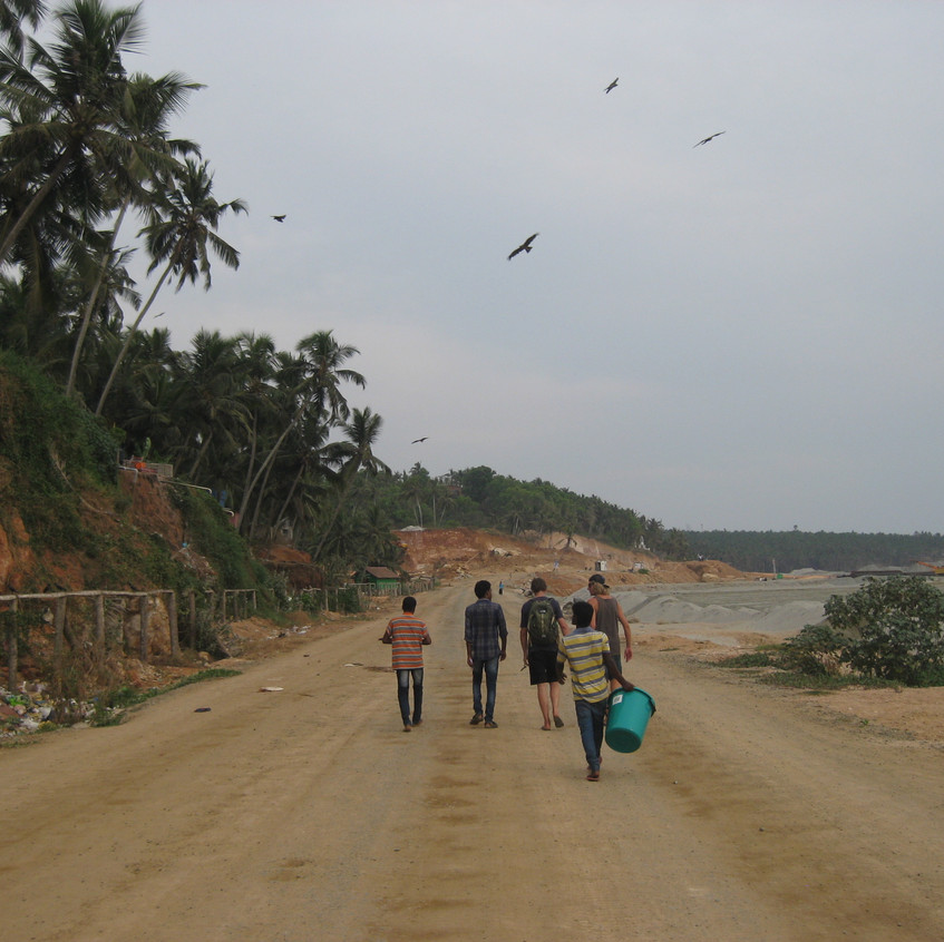 On the way to the beneficiaries