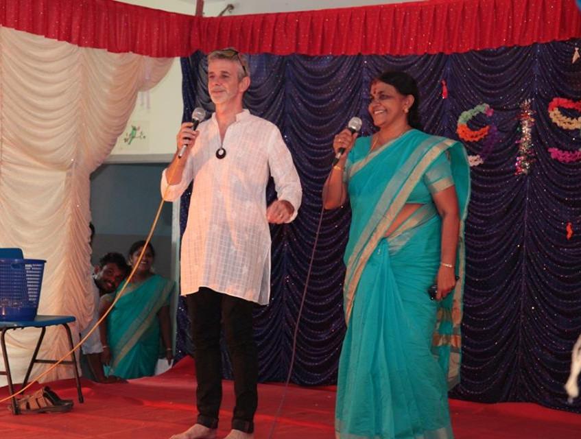 Song by Paul sir and Kumari teacher