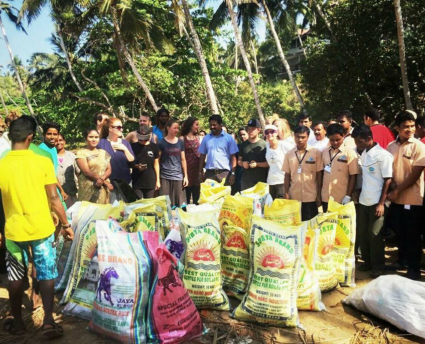 Clean-up 2 with help of Kovalam Surf Club II