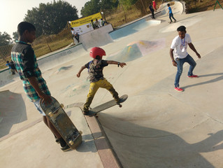Kovalam Skate Club: No school, no skating