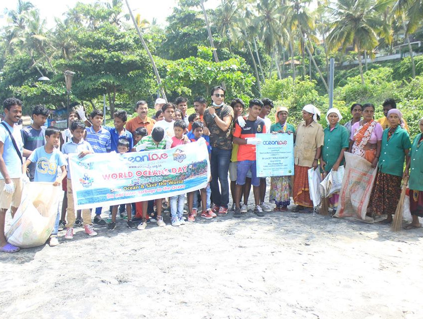 World Ocean Day clean-up