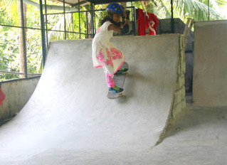 The first skateboarding miniramp in Kerala