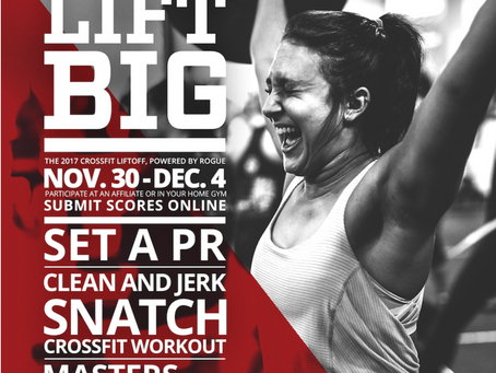 The CrossFit Lift Off at CrossFit Bull Falls-Bull Falls Barbell Club