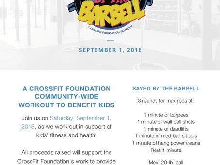 Hosted at CrossFit Bull Falls at 9:30AM