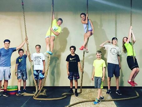 CrossFit Kids at CrossFit Bull Falls