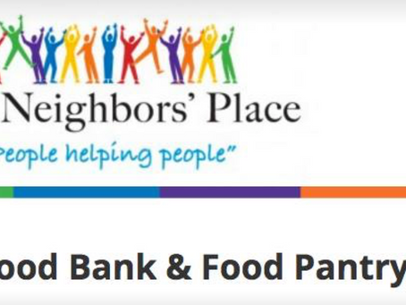 Thanksgiving Fundraiser for The Neighbors' Place at CrossFit Bull Falls Friday, November 24 at 4
