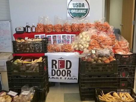CrossFit Bull Falls & Red Door Family Farm Carrot Harvest