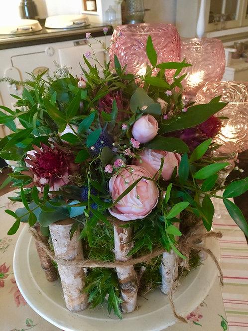 Voorjaarstaart Met Roze Ranonkels 🌸🌷Verkocht