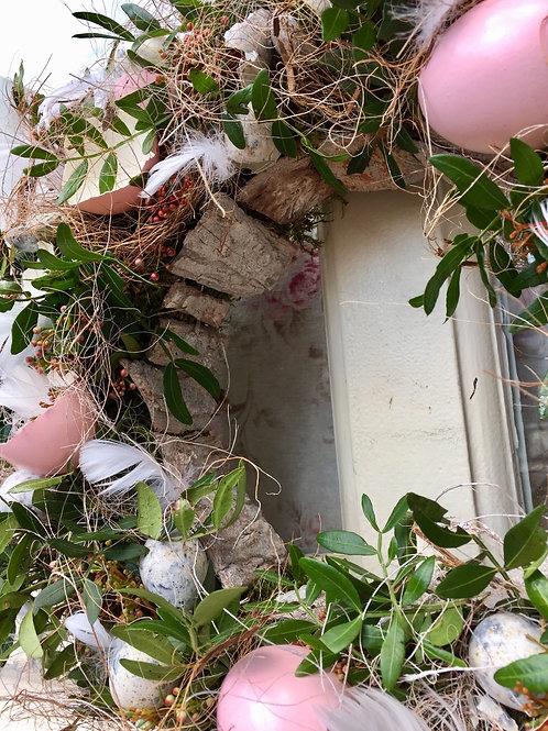 Voorjaarskrans Roze 🌸 Verkocht