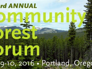 Community Forests in the Northwest: Addressing Barriers & Advancing Solutions
