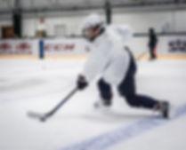 672558En hockeyspelare på Färjestad CCM Super Challange Weeks.