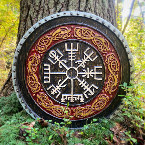 Vegvisir Decorative Wall Shield
