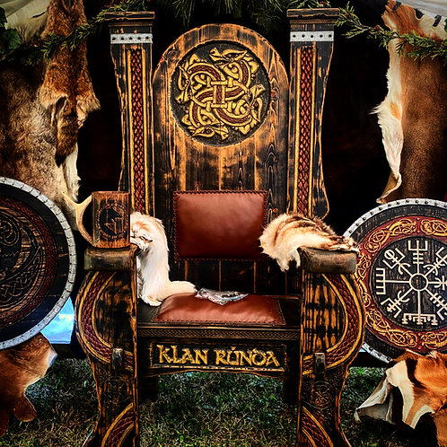 Custom Wooden Throne