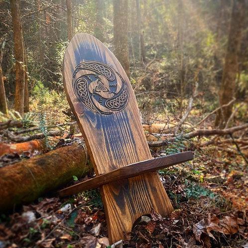 LG Carved Viking Chair - Custom!